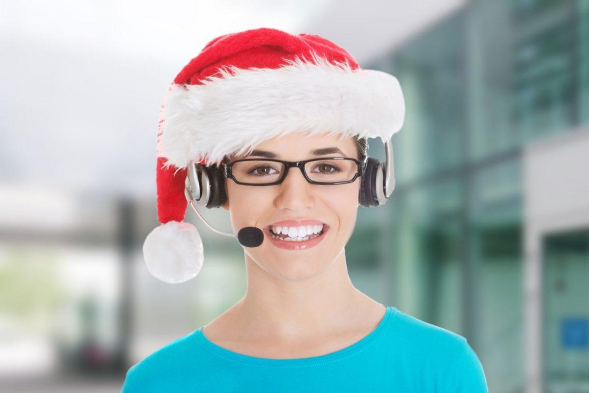 Zamawiam przez telefon, czyli jak wspomóc Świętego Mikołaja