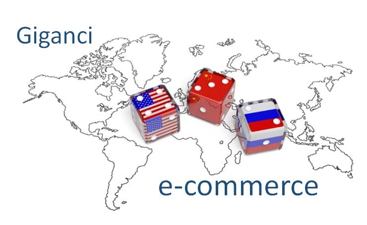 Giganci e-commerce. Porównanie rynku USA, Chin iRosji