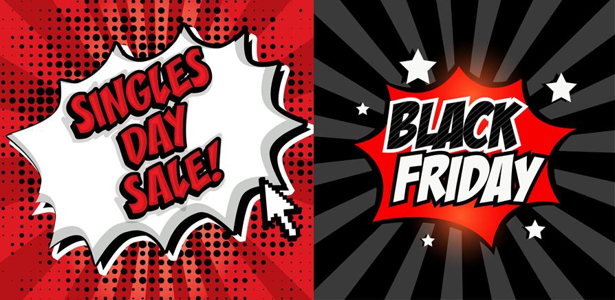 Dni zakupów. Singles' Day i Black Friday