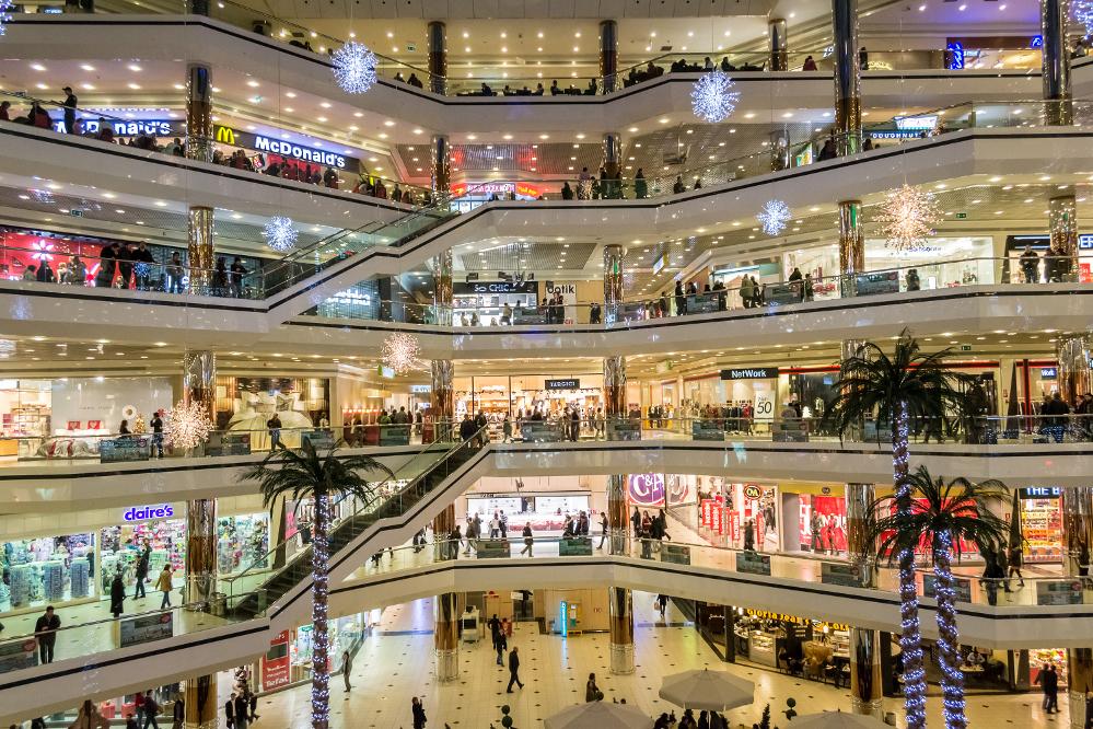 Zmiana roli centrów handlowych