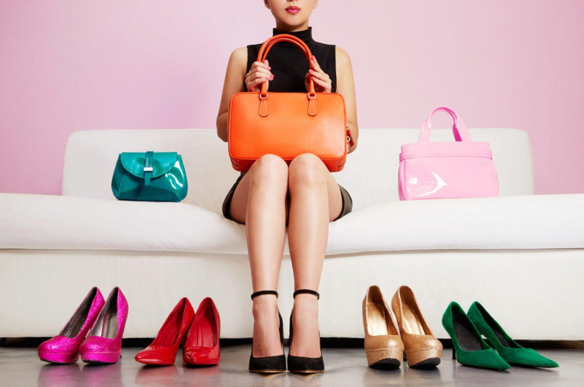 rynek obuwia, kobieta buty